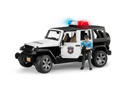 Bruder Rendőrautó Jeep Wrangler Rubicon