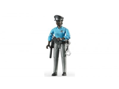 Bruder rendőrnő - sötét bőr