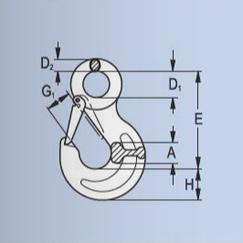 Daruhorog Gyűrűs - Rajz