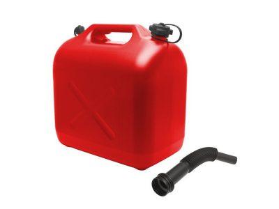 Műanyag üzemanyagkanna