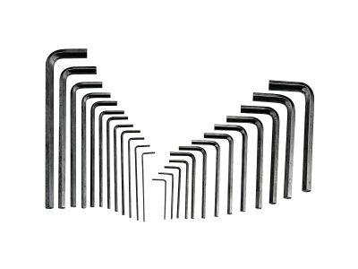 Genius Tools Imbuszkulcs készlet metrikus-colos