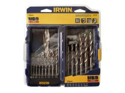 IRWIN Csigafúró készlet HSS