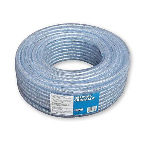 Refittex Cristallo PVC préslégtömlő, átlátszó